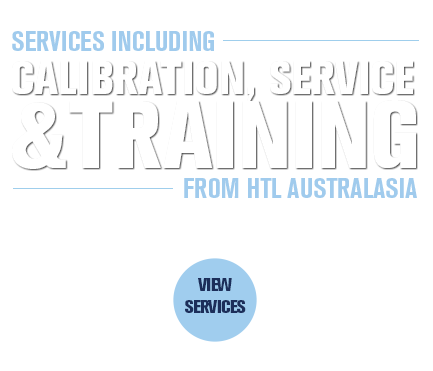 Calibration, test and service from HTL Australasia